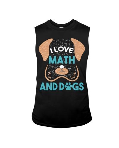 Math Teacher - I Love Math And Dogs