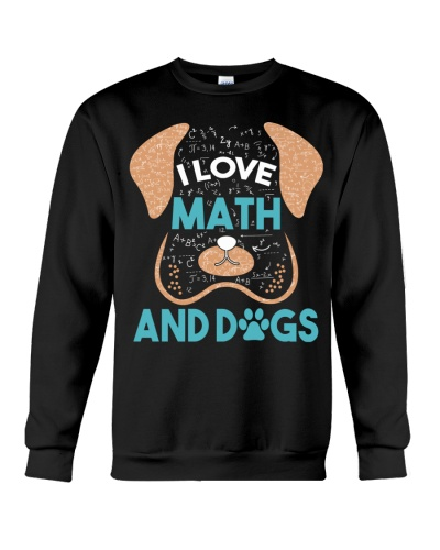 Math Teacher - I Love Math And Dogs