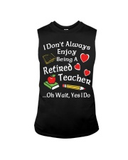 Retired Teacher - Enjoy Sleeveless Tee thumbnail