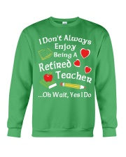 Retired Teacher - Enjoy Crewneck Sweatshirt thumbnail