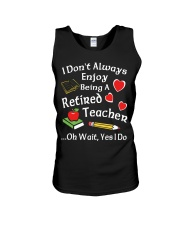 Retired Teacher - Enjoy Unisex Tank thumbnail