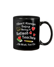 Retired Teacher - Enjoy Mug tile