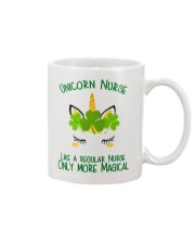 Nurse Unicorn Shamrock Mug thumbnail