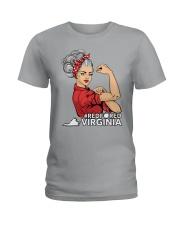 Teacher Strong - Virginia Ladies T-Shirt thumbnail