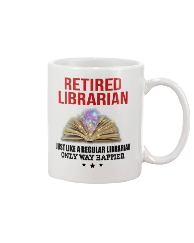 Retired Librarian - Only Way Happier