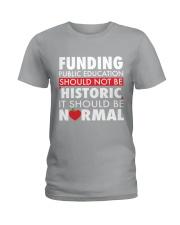 Teacher - Funding Public Ed Ladies T-Shirt thumbnail