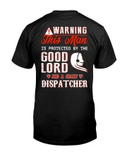 Crazy Dispatcher Classic T-Shirt back