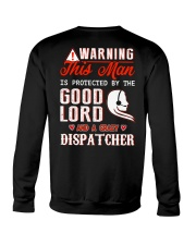 Crazy Dispatcher Crewneck Sweatshirt thumbnail