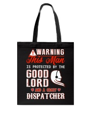 Crazy Dispatcher Tote Bag thumbnail
