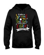 Special teacher hear a child can't say Hooded Sweatshirt thumbnail