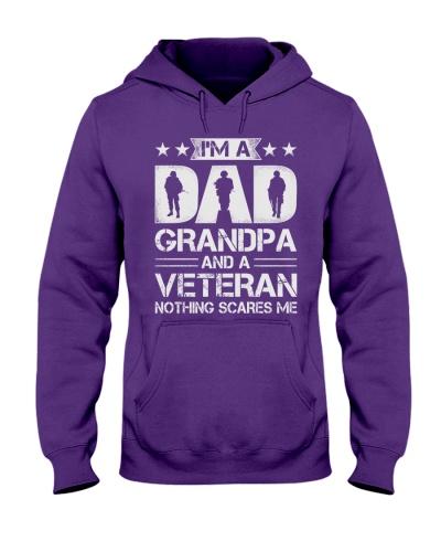 Veteran - Dad and Grandpa - Nothing Scares me
