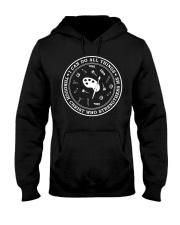 Art Teacher - I can do all Things Hooded Sweatshirt thumbnail