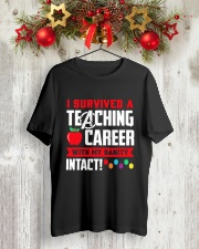 Retired Teacher - Intact Classic T-Shirt lifestyle-holiday-crewneck-front-2