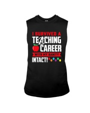 Retired Teacher - Intact Sleeveless Tee thumbnail