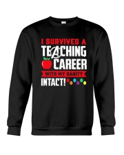Retired Teacher - Intact Crewneck Sweatshirt thumbnail