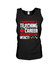 Retired Teacher - Intact Unisex Tank thumbnail