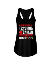 Retired Teacher - Intact Ladies Flowy Tank thumbnail