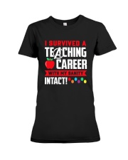 Retired Teacher - Intact Premium Fit Ladies Tee thumbnail