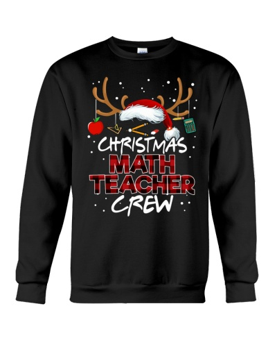 Math Teacher - Christmas Math Crew