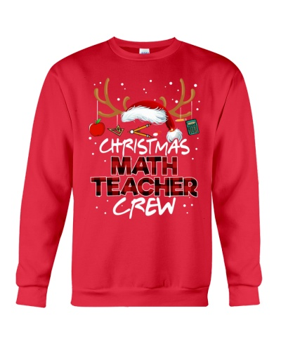 Math Teacher - Christmas Math Crew