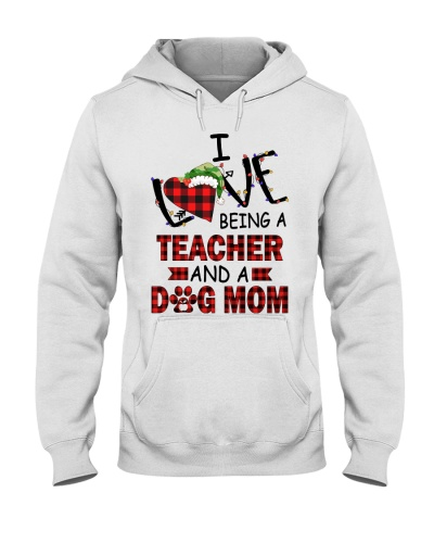 Christmas Teacher - Love Being Teacher - Dog Mom