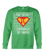 Math Teacher - The Secret SuperDigit of Math Crewneck Sweatshirt thumbnail