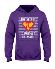 Math Teacher - The Secret SuperDigit of Math Hooded Sweatshirt thumbnail
