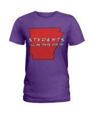 Students Be There - Arkansas Ladies T-Shirt thumbnail