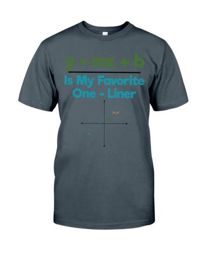 Math Teacher - One - Liner