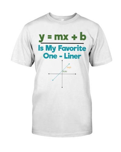 Math Teacher - One - Liner