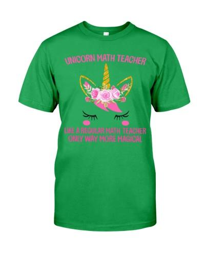 Math Teacher - Unicorn