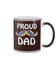 Autism - Proud Dad Color Changing Mug thumbnail