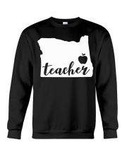 Oregon Teacher - Map Crewneck Sweatshirt tile