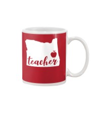 Oregon Teacher - Map Mug tile