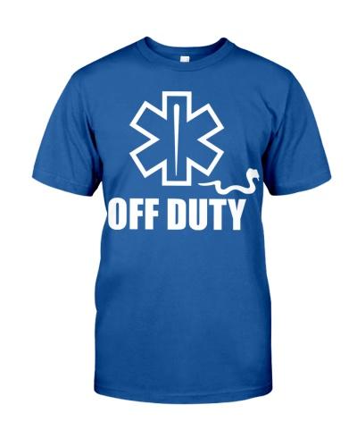 Paramedic - EMT - EMS - OFF DUTY