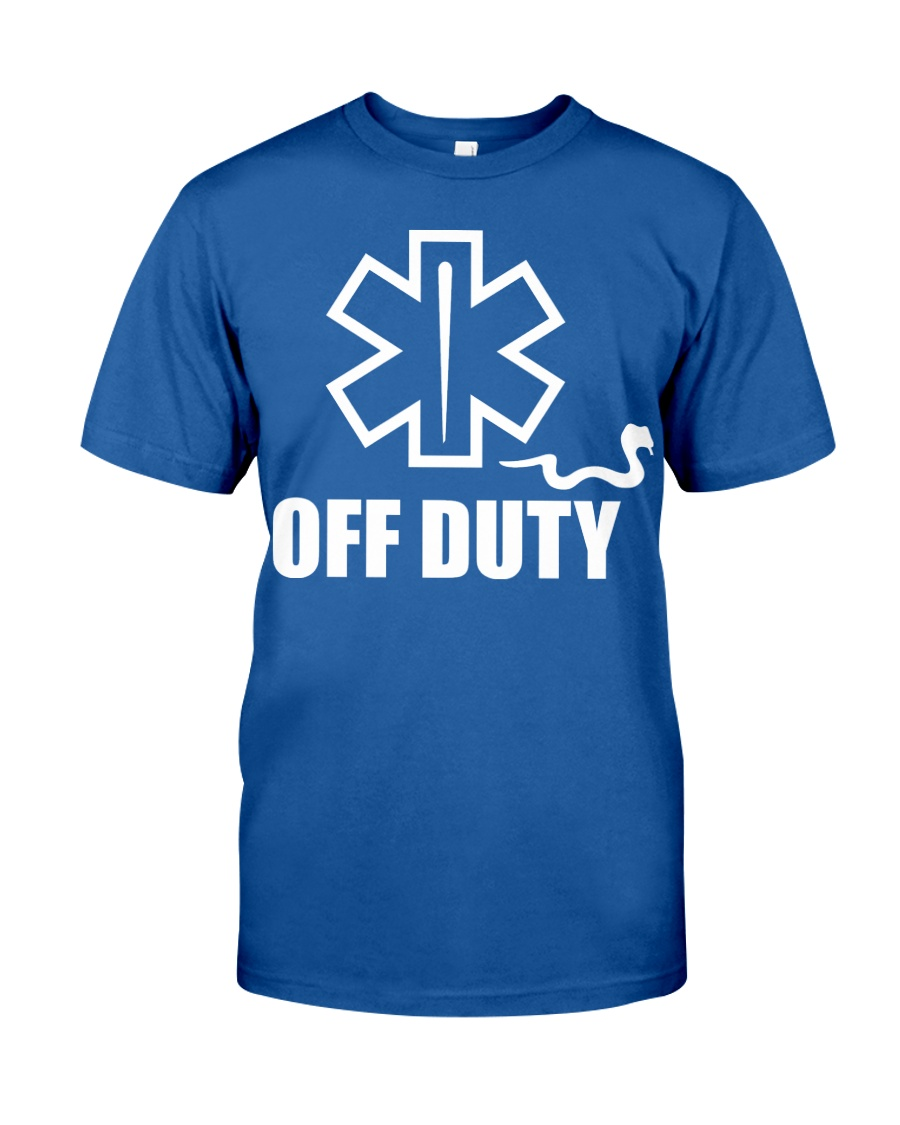Paramedic - EMT - EMS - OFF DUTY Classic T-Shirt