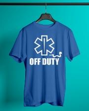 Paramedic - EMT - EMS - OFF DUTY Classic T-Shirt lifestyle-mens-crewneck-front-3