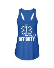 Paramedic - EMT - EMS - OFF DUTY Ladies Flowy Tank thumbnail
