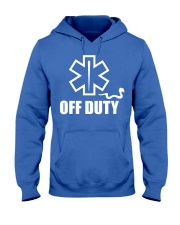 Paramedic - EMT - EMS - OFF DUTY Hooded Sweatshirt thumbnail