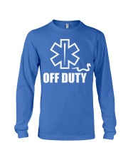 Paramedic - EMT - EMS - OFF DUTY Long Sleeve Tee thumbnail