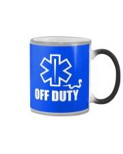 Paramedic - EMT - EMS - OFF DUTY Color Changing Mug thumbnail