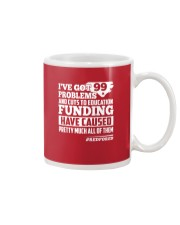 Red for ED - North Carolina Teachers  Mug thumbnail