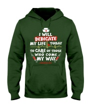 Nurse Will Dedicate Hooded Sweatshirt tile