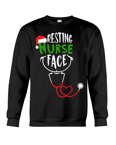 Nurse - Christmas - Resting Face