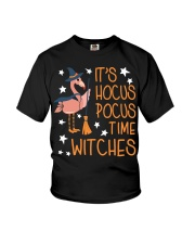 Teacher - It's Hocus Pocus Time Witches Youth T-Shirt thumbnail