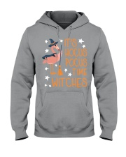Teacher - It's Hocus Pocus Time Witches Hooded Sweatshirt thumbnail