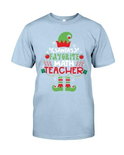 Math Teacher - Santa's Favorite