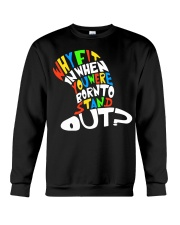 Born to stand out Crewneck Sweatshirt thumbnail