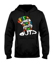 Born to stand out Hooded Sweatshirt thumbnail