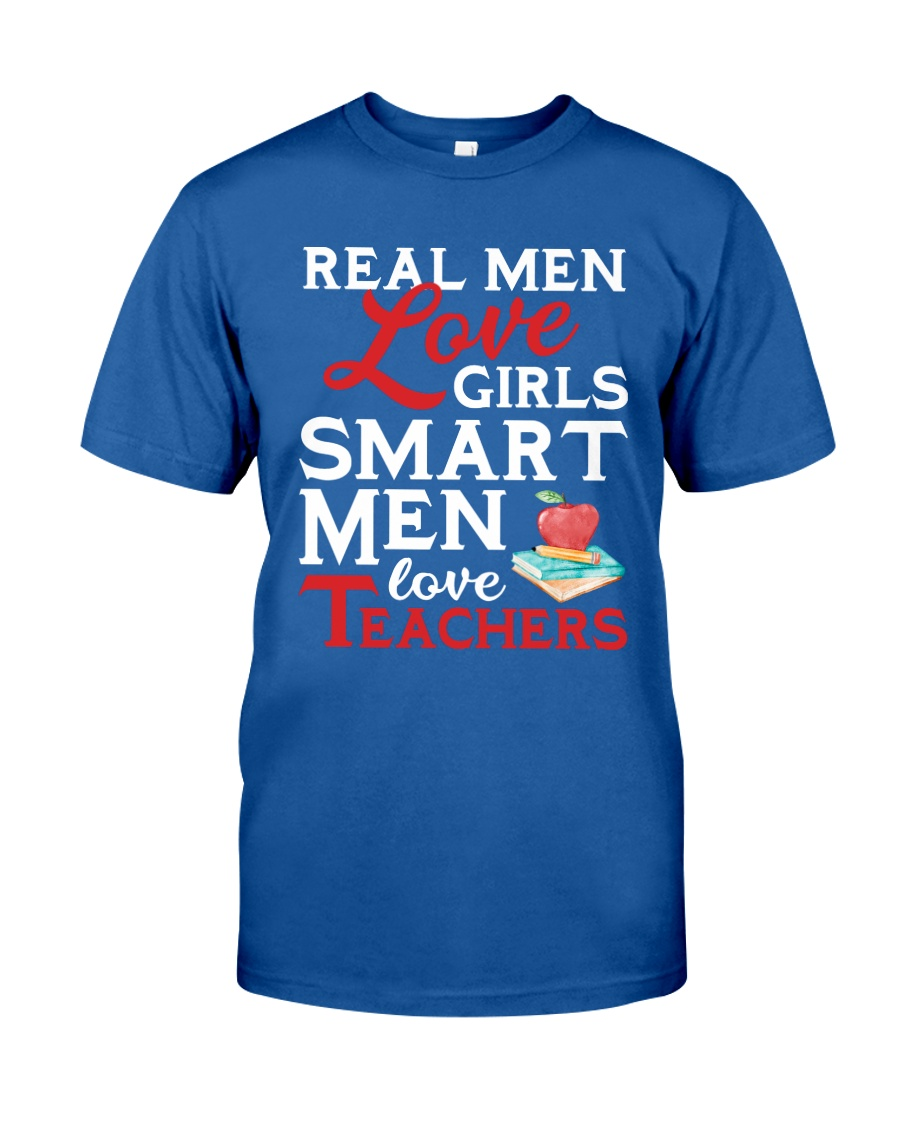 Smart Men Love Teachers Classic T-Shirt